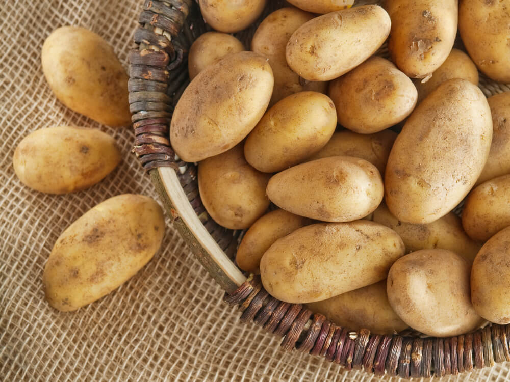 potatoes and starchy foods