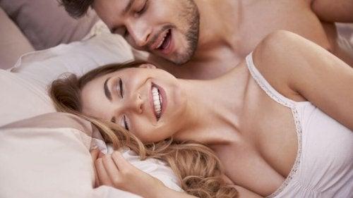 le sens de l'ouïe procure du plaisir sexuel
