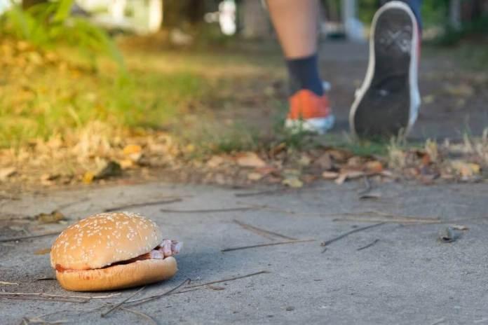 mauvaise alimentation et sport