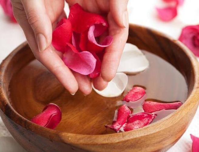 tonique naturel à base de pétales de rose