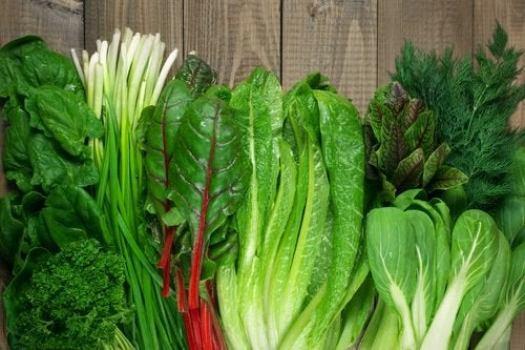 régime alimentaire anti-dépression : légumes verts
