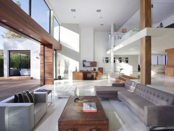 Villa Contemporaine à Beverly Hills En Californie