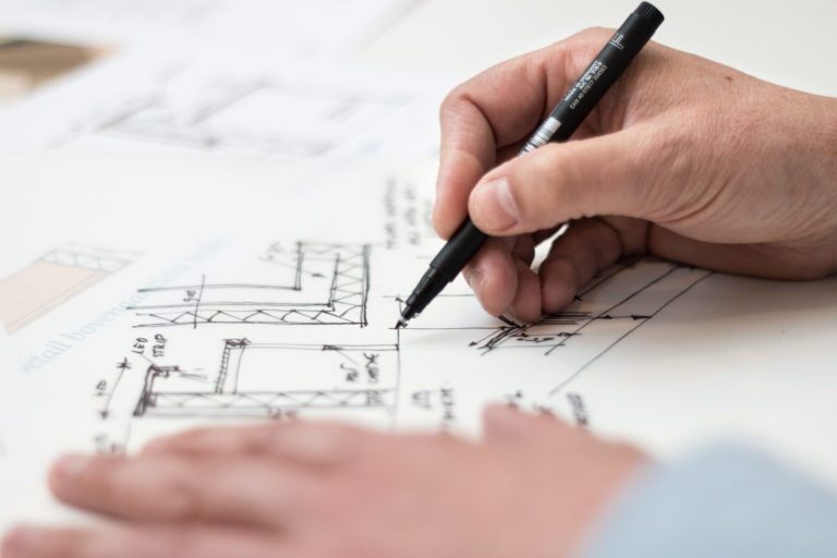 Plan d'architecte