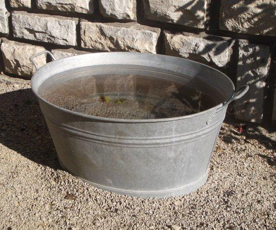 bassine en fer
