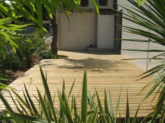 entretien terrasse en pin traité classe 4