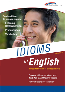 New Table of Contents for Idioms in English- Volume One
