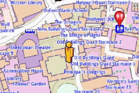 map oxford university » Free Interior Design | Mir Detok