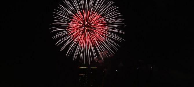 2020年亀戸花火大会 第38回江東区民祭り亀戸地区夏まつり大会 [夏祭り2020]令和2年度