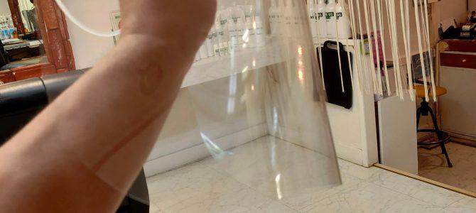 フェイスシールド2  株式会社河島製作所のカワシールド Ag+ 改良