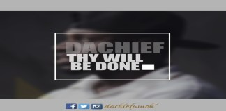 "New Audio + Video: ""Spoken Word: Thy Will Be Done"" - Dachief Umoh"