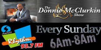 News: The Donnie McClurkin Radio Show Now Airs on Rhythm FM Every Sunday