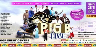 News: Turn It Up With Big Live On the 31st of July 2016