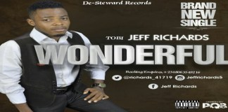 "New Music: ""Wonderful"" - Tobi Jeff Richards"