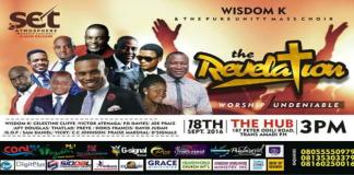 News: Wisdom K And The Pure Unity Mass Choir Presents Set The Atmosphere Worship Concert 2016/Album Launch