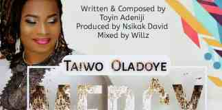 "Gospel Music: ""Mercy"" - Taiwo Oladoye 