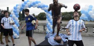 Lionel Messi statue unveiled in 2016 [wwwAmenRadio.net]