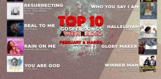 Gospel Music: AmenRadio Top 10 Gospel Songs For February & March, 2018 | AmenRadio.net