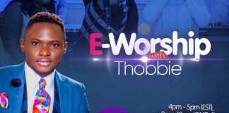 Gospel Event: E Worship - Thobbie   AmenRadio.net