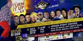Gospel News: Turn It Up With Big Bolaji The 8th Edition - Live In Ibadan | Amenradio.net