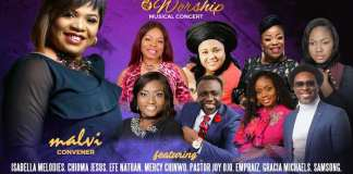 Malvi To Host Streams of Woship Musical Concert and Launch Album