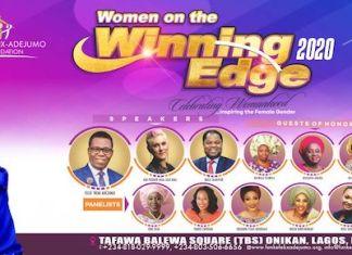 Winning Edge Conference 2020 With Rev Funke Adejumo