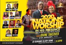 Nations' Worship In His Presence 2020