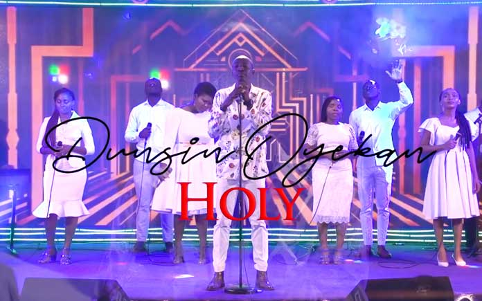 Download Video: Holy - Dunsin Oyekan | Gospel Songs Mp3 Music