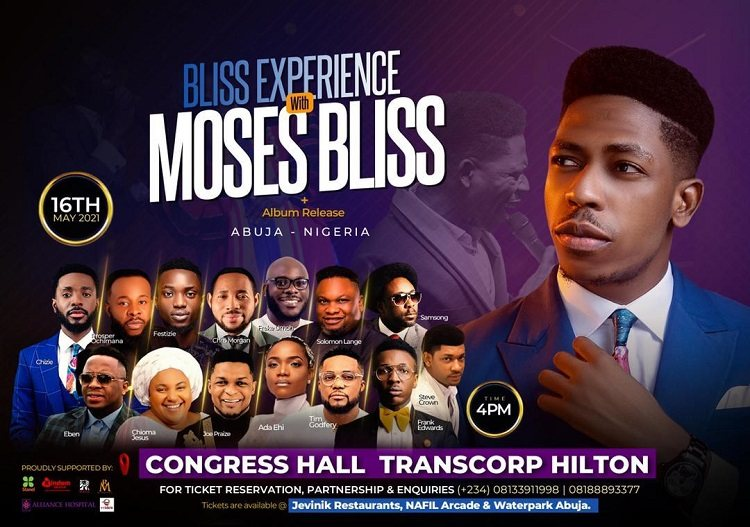 The Bliss Experience - Moses Bliss