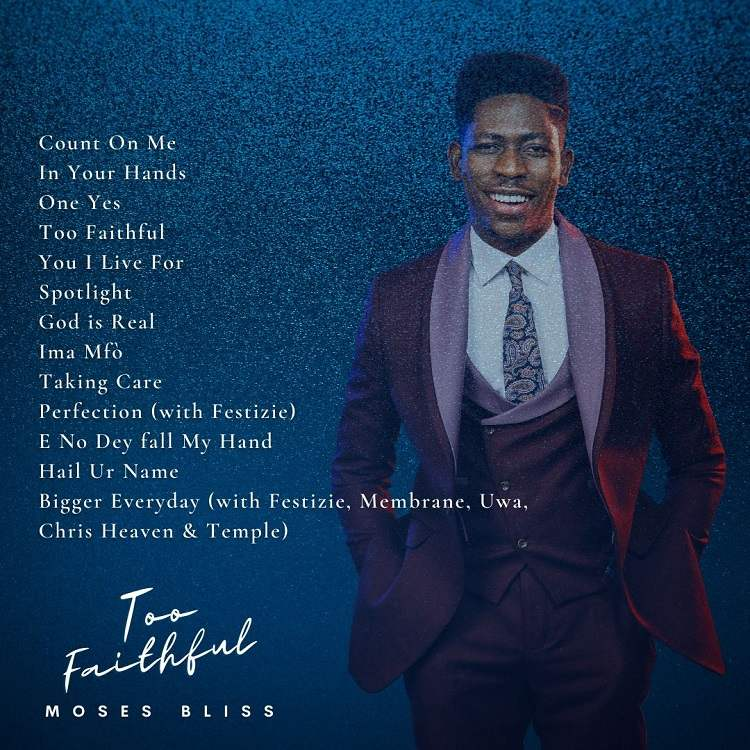 Too Faithful - Moses Bliss (Back Cover)