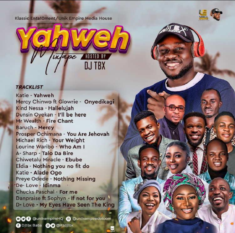 Yahweh (Mixtape) - DJ Tbx