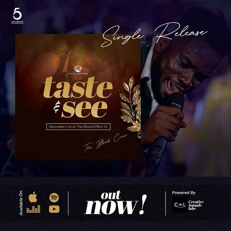 Taste And See - The Blood Crew Ft. Sammy Joyous