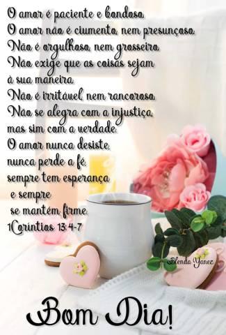 Mensagem de Amor 1 Corintios 13