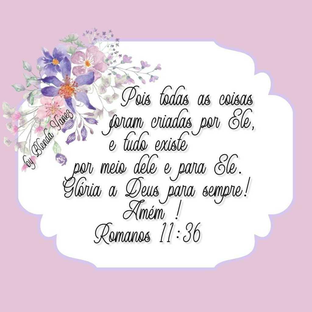 Mensagem Bíblica de Bom Dia com versículo