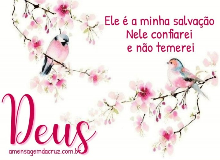 Deus é a Minha Salvação