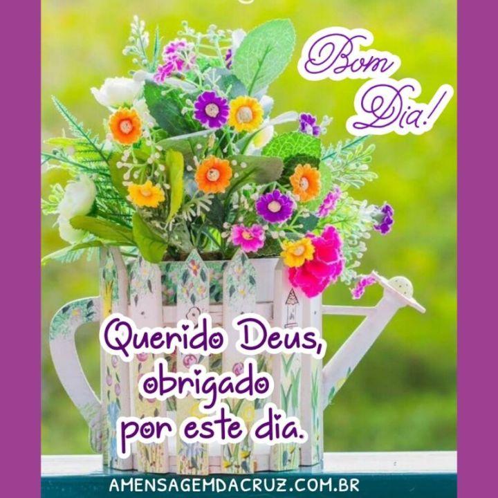 Mensagem Evangélica - Querido Deus, obrigado por este dia. Meu coração está cheio de gratidão.