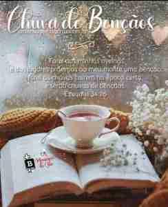 Chuva de Bençãos - Mensagem Bíblica de Bom Dia