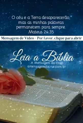 Leia a Bíblia - Mensagem Evangélica de Salvação