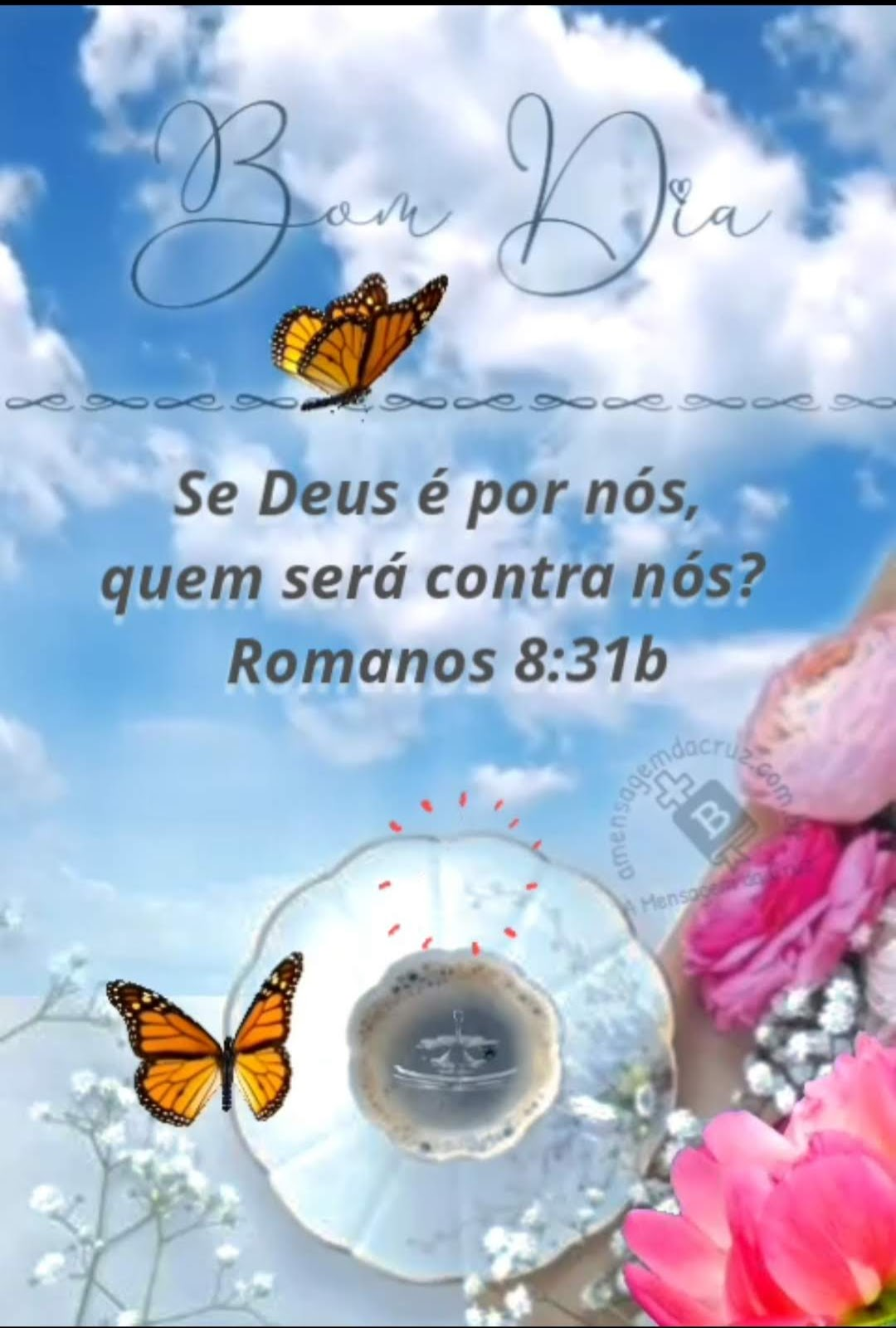 Se Deus é por nós quem será contra nós-romanos 8-31