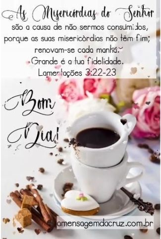 Bom Dia Com Misericórdias