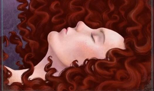Mulher de cabelos ruivos