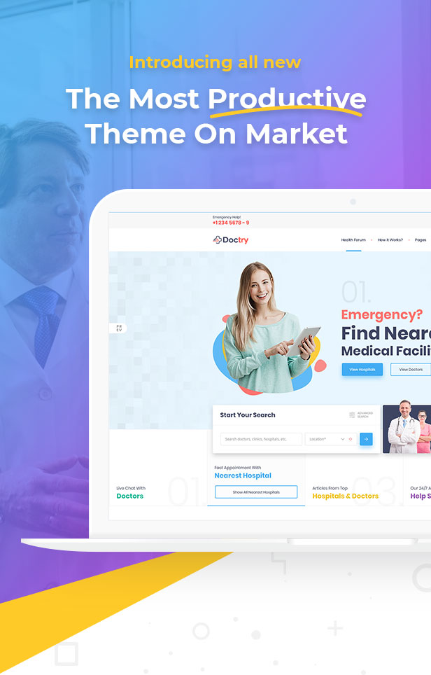 Doctry - Doctors and Hospitals Listing Theme - 11