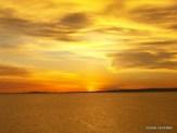 sunset on the lake Victoria, Kisumu, Kenya