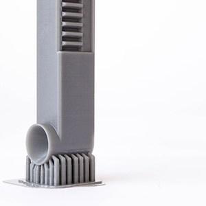 SLA printed gear result