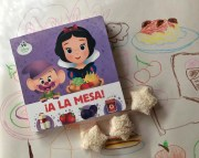 ¡A la mesa!, un libro para practicar alimentos y jugar con los personajes Disney