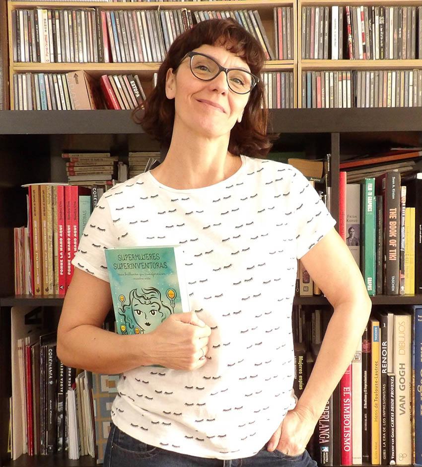 Sandra Uve autora de Supermujeres Superinventoras