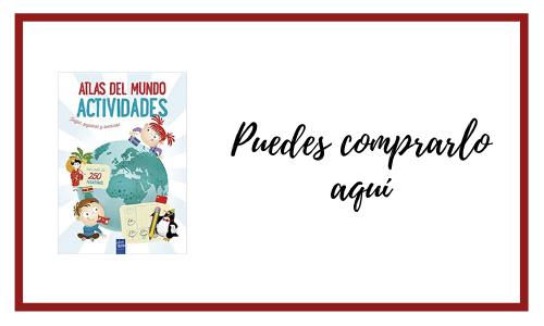 Atlas del mundo cuadernillo de verano
