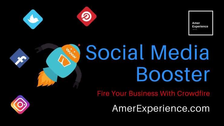 Social Media Booster, AMER EXPERIENCE