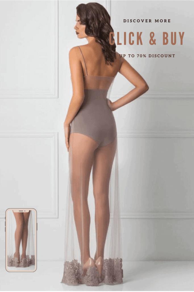 Lavinia Sexy Lingerie Design Lencería Long Dress Amazing Elegant Designer