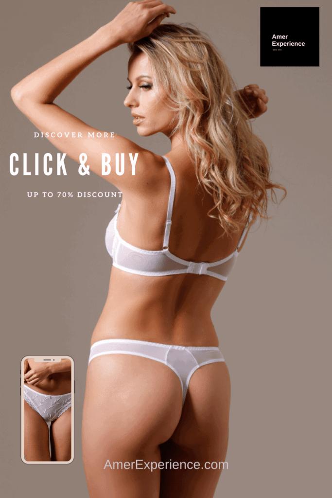 Lavinia Sexy Lingerie Design Lencería Underwear White Gorgeous