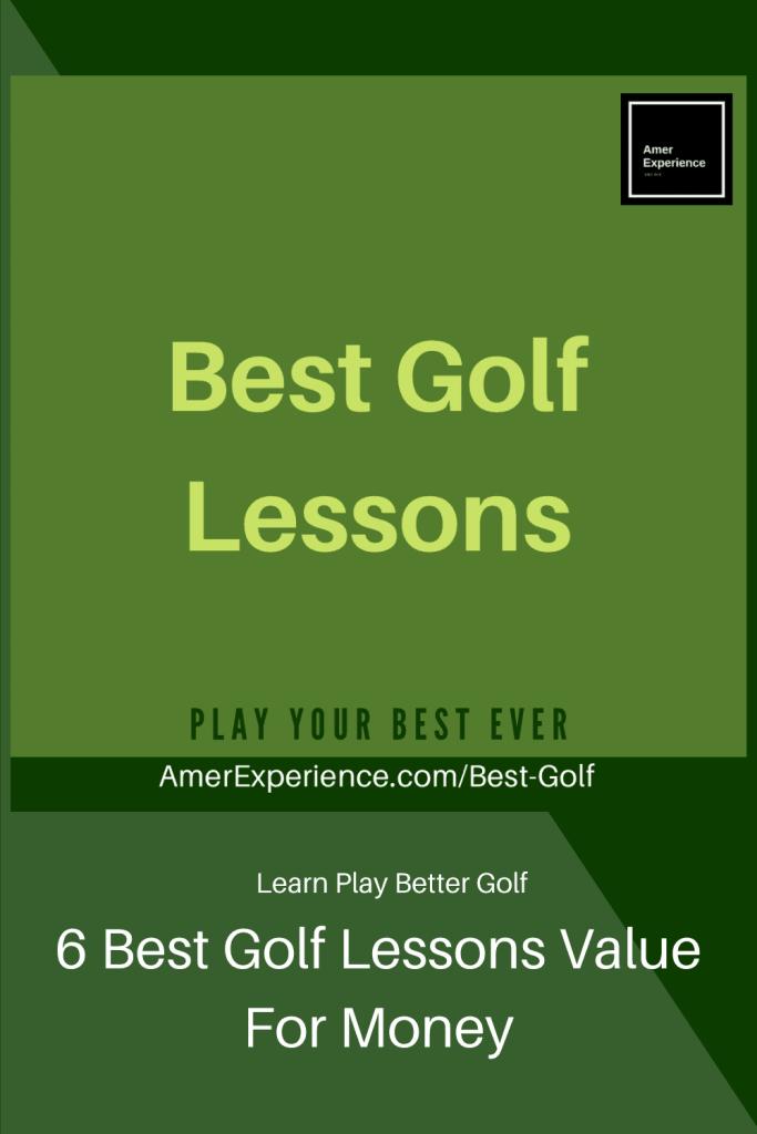 6 Best Golf Lessons Value For Money